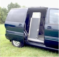 Side Door Van Ramp: 7' x 28""