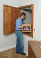 Load items upstairs