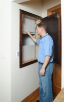 Retrieve items downstairs