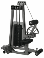 Seated Low Back / Ab Combination Selectorized Machine