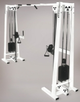 Cable Crossover w/ Adjustable Pulley Multi Stack Selectorized Machine