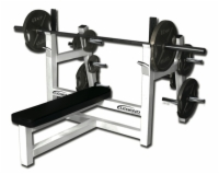Olympic Flat Bench with Plate Storage