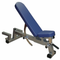 Utility Three-Way Bench with Spotter Platform