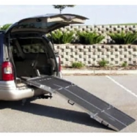 Rear Door Van Ramp: 7' x 27""