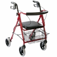 Deluxe Rollator with Padded Seat