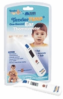 Tender Temp One-second Ear Thermometer Fahr & Cel.