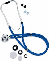"Sprague Rappaport 22"" Stethoscope, Dark Blue"