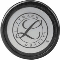 Littmann Tunable Diaphragm & Rim Assembly, Black Rim (Pack of 5)