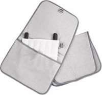 "Gray, Terry Cloth Cover, Neck Contour, 24"" X 17"""