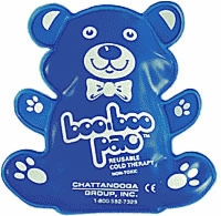 Boo-boo Pac,reusable Cold Pack,blue,teddy Bear Shp