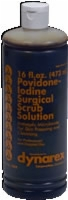 Povidone Iodine Scrub Solution 7.5% Iodine,16 Oz