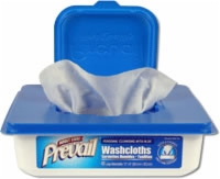 "Prevail Washcloth, 7.9""x 12.4"" (Tub of 48)"