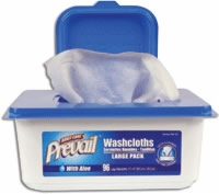 Prevail Disposable Washcloths (Pack of 96)