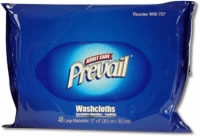 "Washcloth Refill Pack, 7.9"" x 12.4"" (Pack of 48)"
