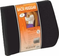Back-huggar Original Lumbar Support Cushion,black