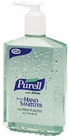 Purell Hand Sanitizer with Aloe - 12 Ounce Pump Bottle