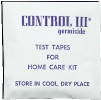 Control Iii Test Strips, 15 Strips/package