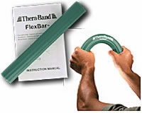 Thera-band Flexbar,green, Medium Resistance Level