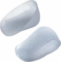 Tuli's Classic Gel Heelcups, Medium (under 175lbs)