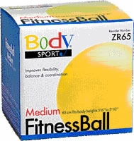 Fitness Ball, 65 Cm, Yellow