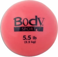 Soft Weight Training Ball 5.5 Lbs