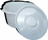 Universal Replacement Pail, 7 Qt. W/lid