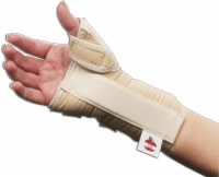 "Wrist & Thumb Spica Splint, Med-right, 6.5""-7.5"""