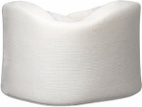 "4"" Wide Cervical Collar, Velcro Close, Natural, Lf"