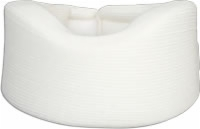 "2"" Wide Cervical Collar, Velcro Close, Natural, Lf"
