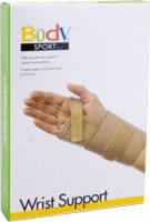 "Carpal Tunnel Wrist Supp,left,4""strap W/insert,ltx"