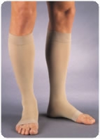 Relief 30-40mm Knee-hi, X-lrg, Opn Toe, Beige,pair