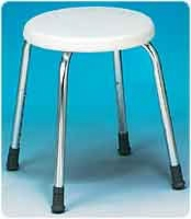 Adjustable Round Shower Stool For Narrow Tubs,2/cs