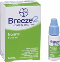Ascensia Breeze 2 Normal Control Solution