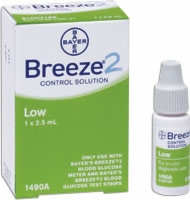 Ascensia Breeze 2 Low Control Solution