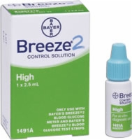 Ascensia Breeze 2 High Control Solution