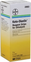 Keto-diastix Reagent Strip. 50 Per Box