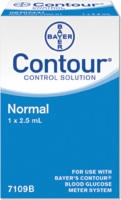 Ascensia Contour Normal Control Sol (1) 2.5ml Vial
