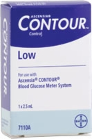 Ascensia Contour Low Control Solution