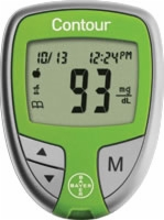 Contour Blood Glucose Monitoring System,green