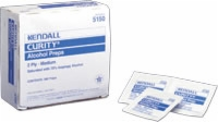 Curity Medium (2 Ply) Alcohol Preps, 200/carton