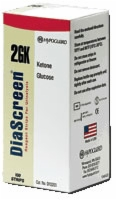 Diascreen Gk Urine Strips For Gluc. & Ketone, 100
