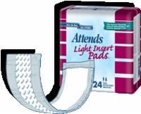 "Attends Light Insert Pad, 3.75"" X 11.5"" (Bag of 24)"
