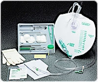 Infection Control Foley Tray W/bag, W/o Catheter