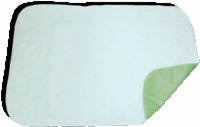 "3 Ply Quilted Reusable Underpad 30""x36"", Mint Green, Each"