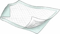 "Safe Guard Large Underpads, 23"" X 36"" (Case of 150)"