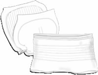 "Wings Day Regular Insert Pad, 13.4"" X 24"" (Bag of 22)"