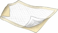 "Wings Maximum Bed Underpad, 30"" X 30"" (Bag of 10)"