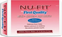 "First Quality Nu-fit Adult Brief, Med, 32""-44"" (Bag of 16)"