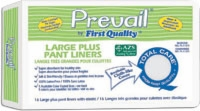 "Previal Pant Liner,large Plus Elastic,13""x28"" (Bag of 16)"