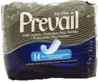 Prevail Male Guards W/adhesive Strip (Bag of 14)